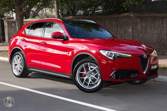 2018 Alfa Romeo Stelvio Ti (No Series)