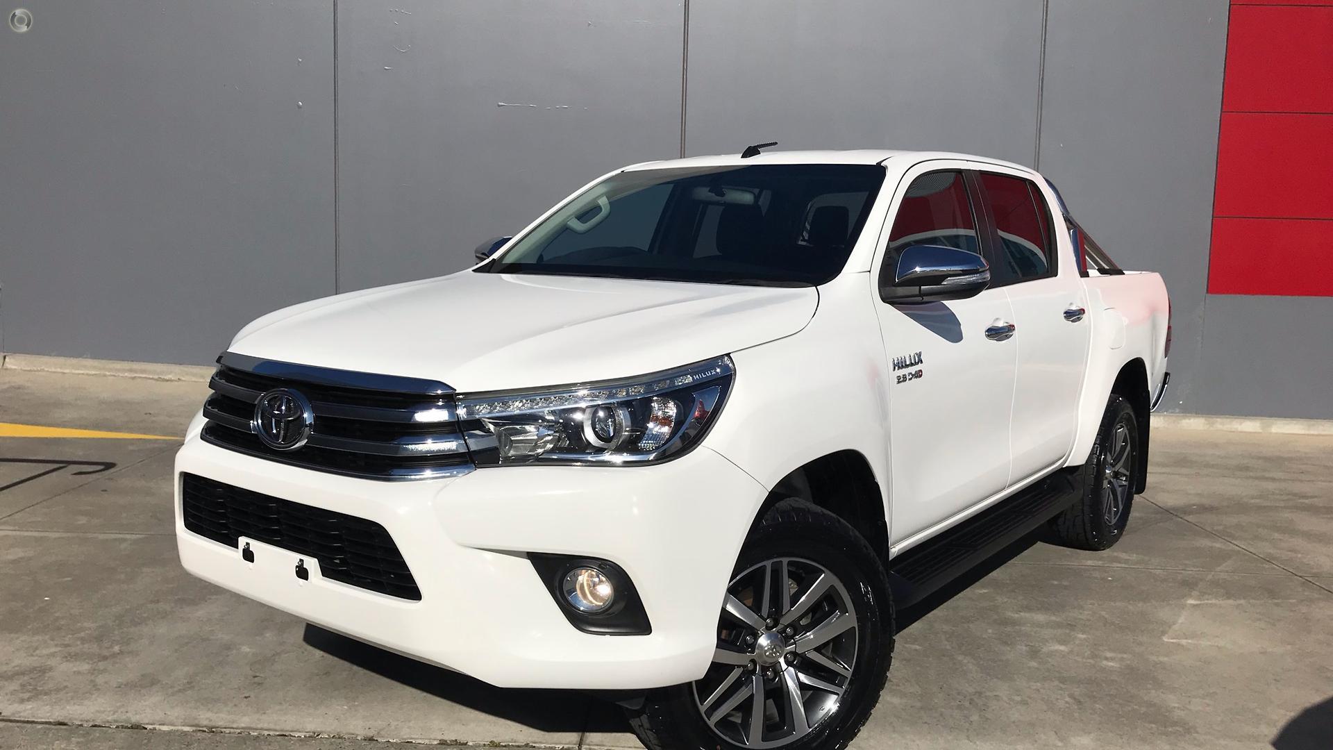 2016 Toyota Hilux GUN126R