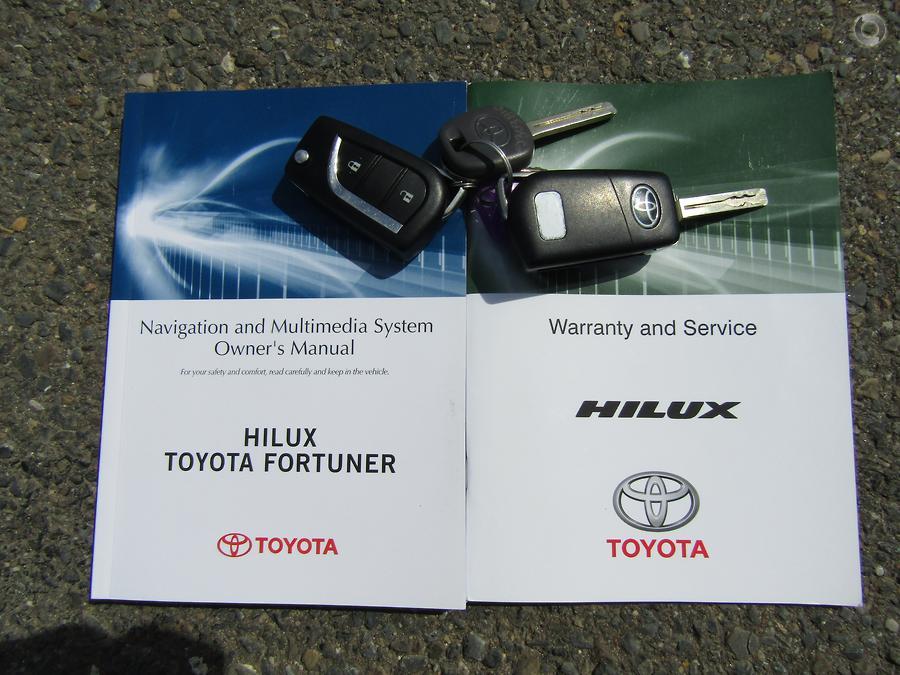 2015 Toyota Hilux SR GUN126R