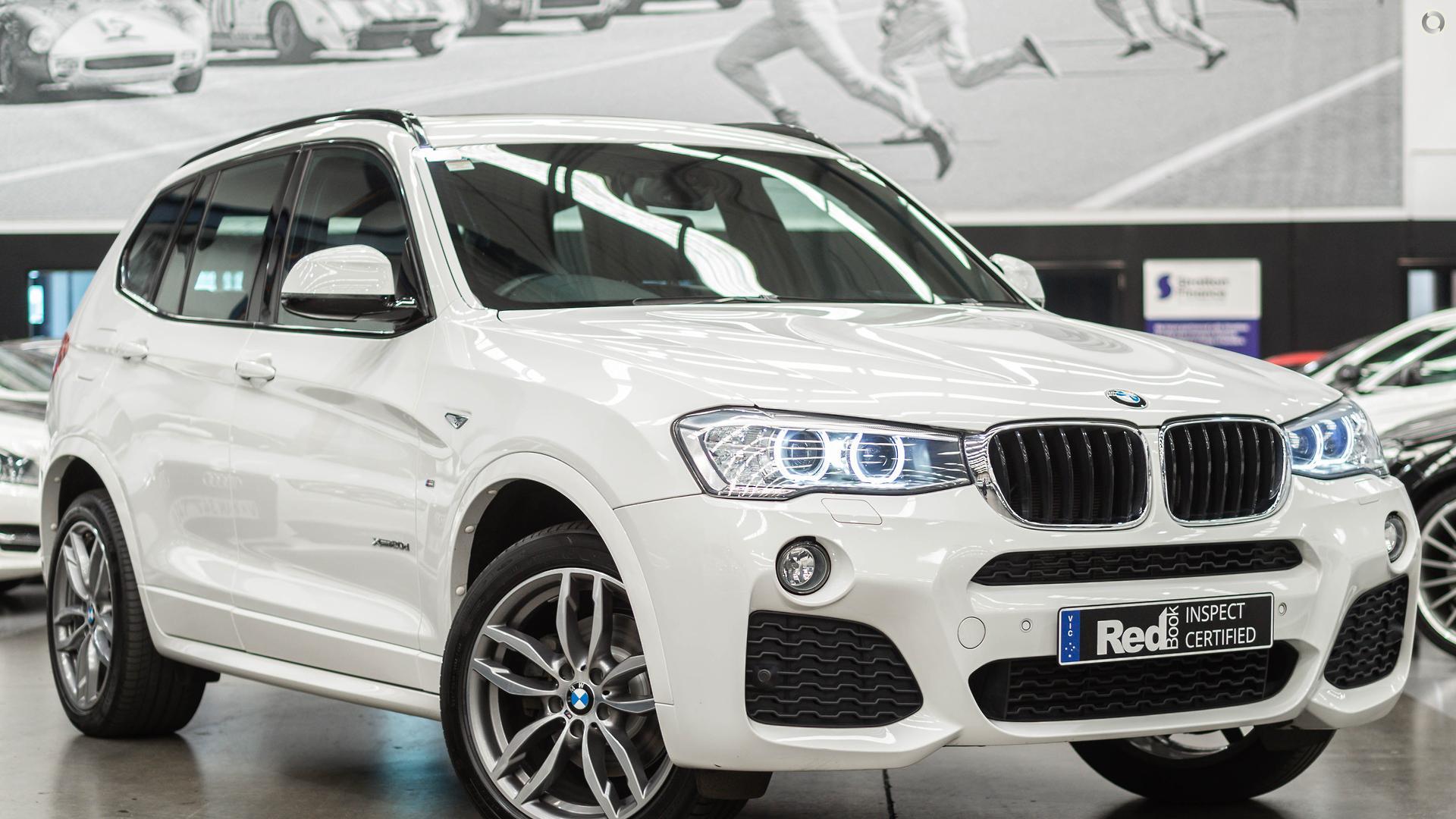 2015 BMW X3 xDrive20d F25 LCI
