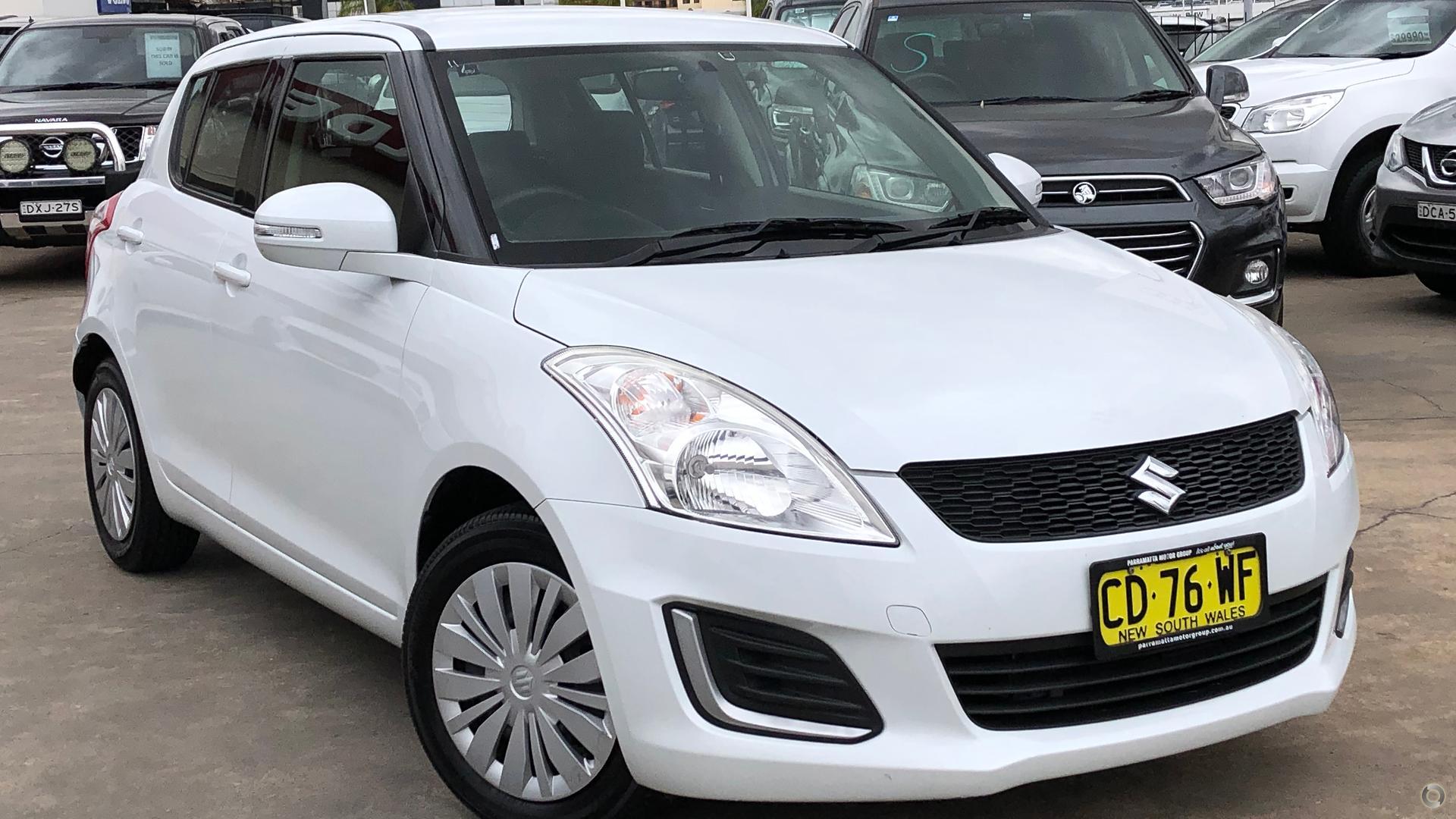2015 Suzuki Swift GL FZ