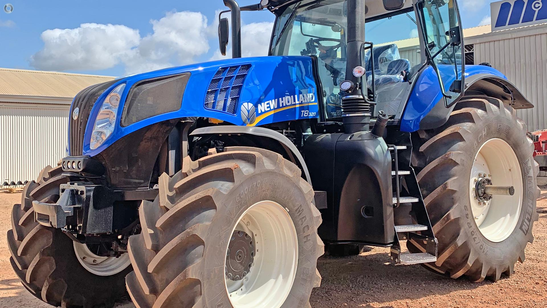 2019 New Holland T8.320