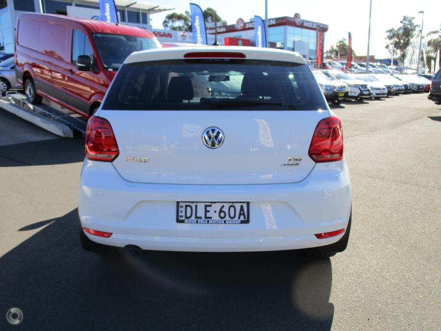 2016 Volkswagen Polo 81TSI Comfortline 6R