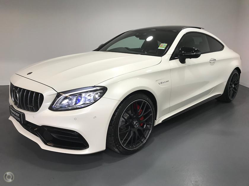 2018 Mercedes-Benz C 63 AMG S Coupe