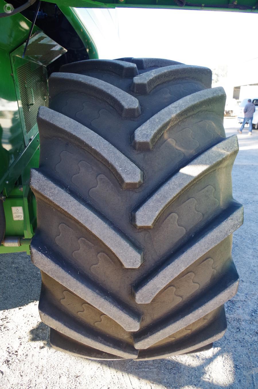 2011 John Deere 9770 STS Harvester
