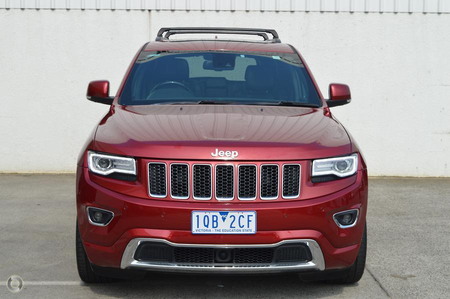 2016 Jeep Grand Cherokee Overland WK