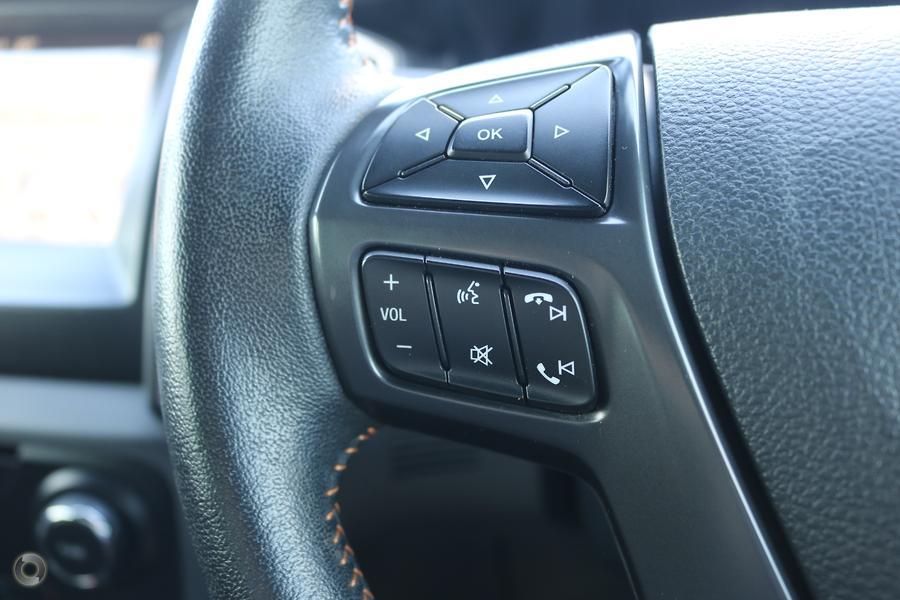 2017 Ford Ranger Wildtrak PX MkII