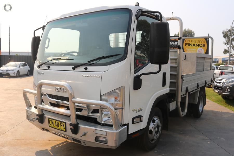 2017 Isuzu N Series NPR 45/55-155 Tradepack