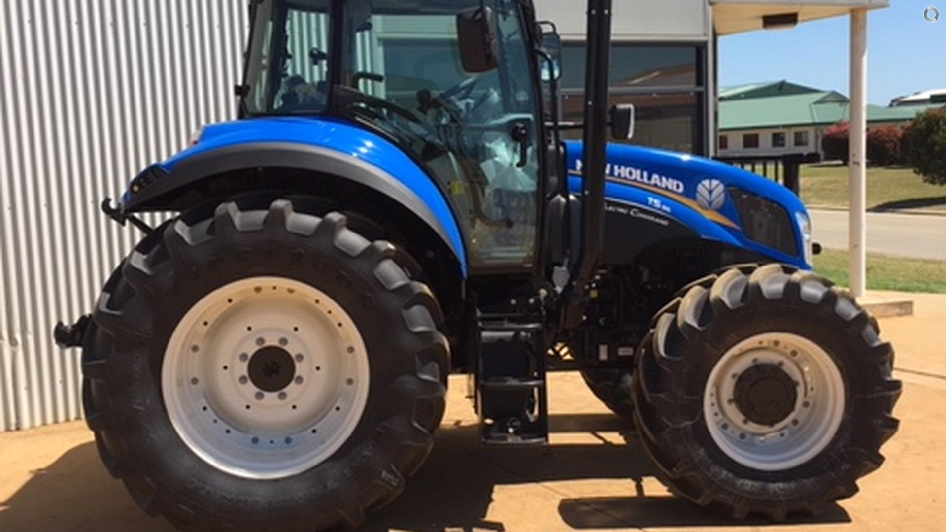0 New Holland T5.105 Electro Command Tractor
