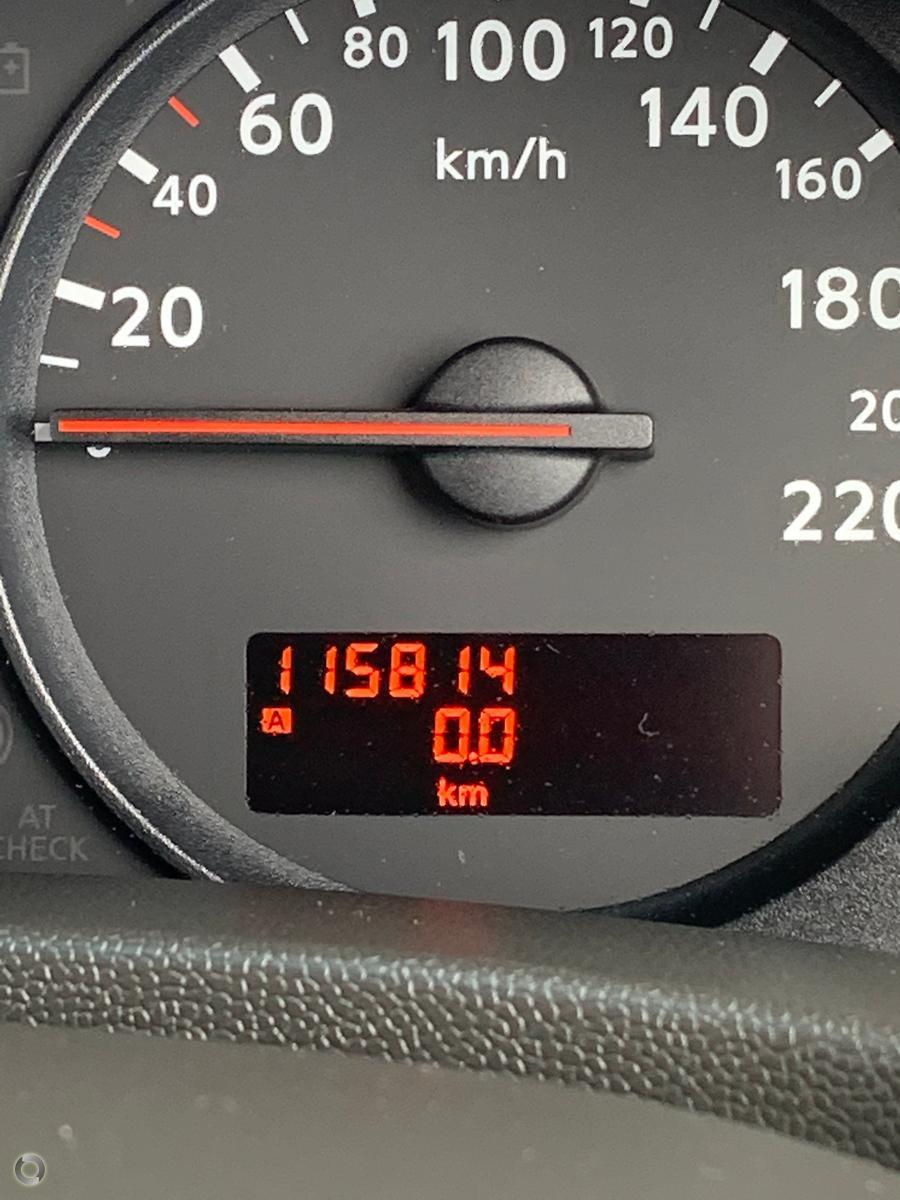 2010 Nissan Navara ST-X D40