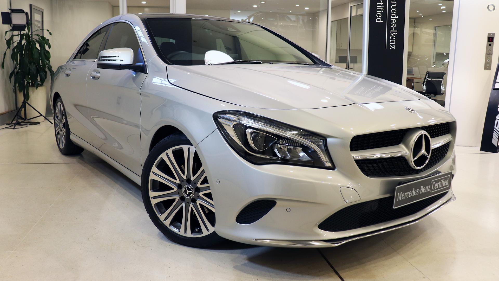 2017 Mercedes-Benz CLA 200 Coupé