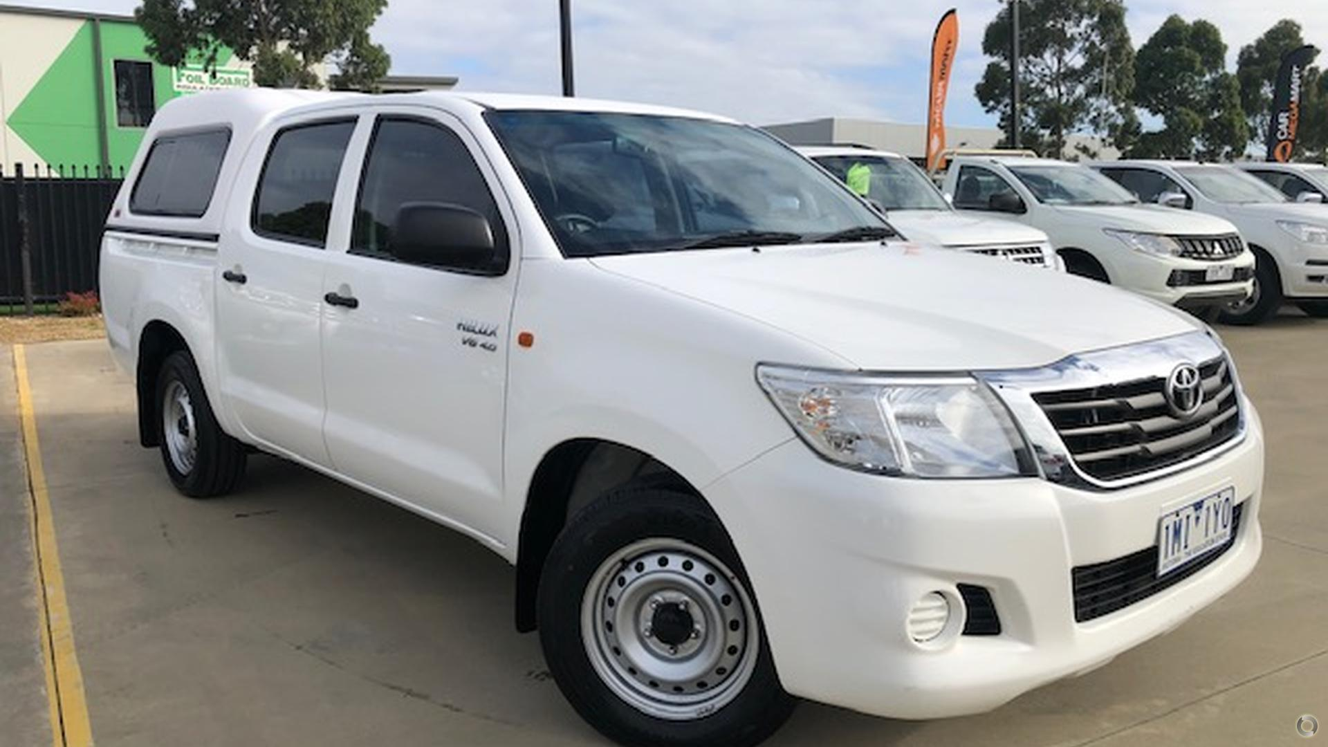 2015 Toyota Hilux GGN15R