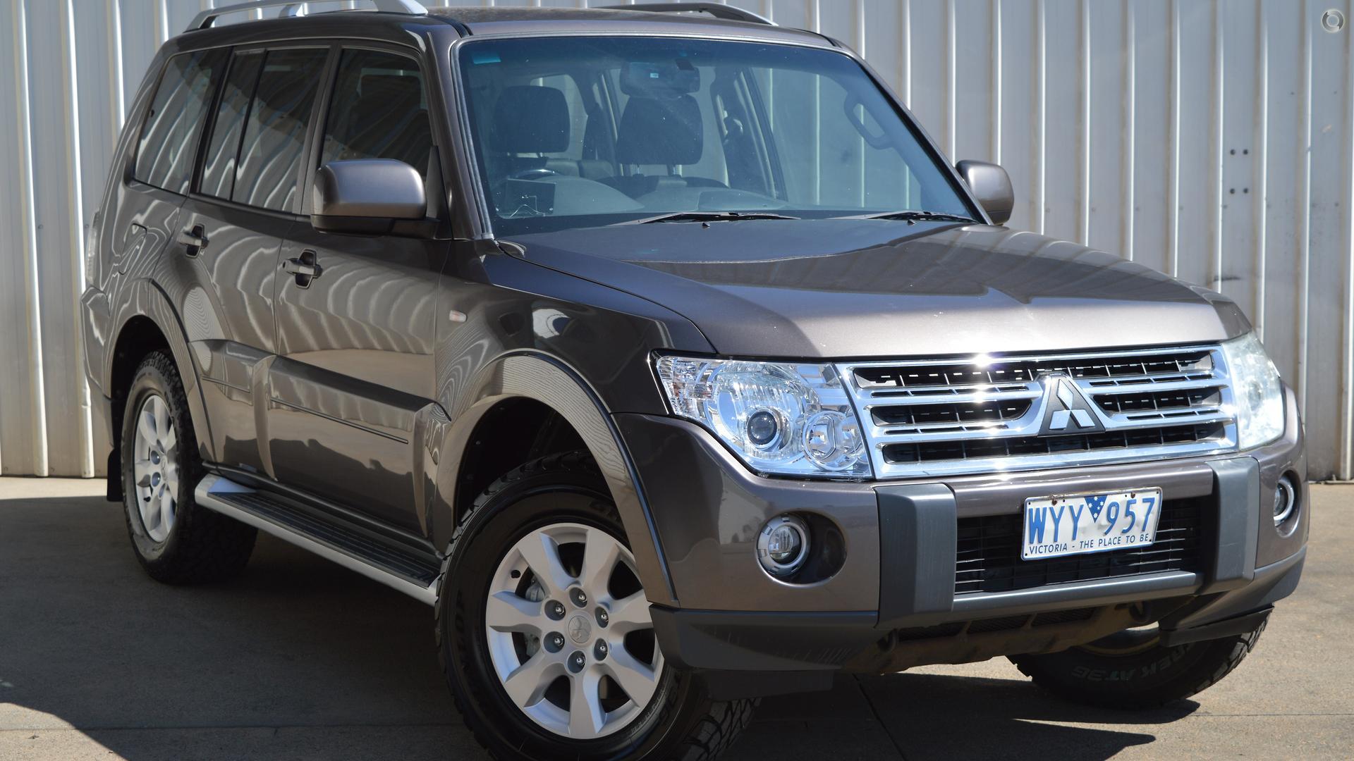 2009 Mitsubishi Pajero NT