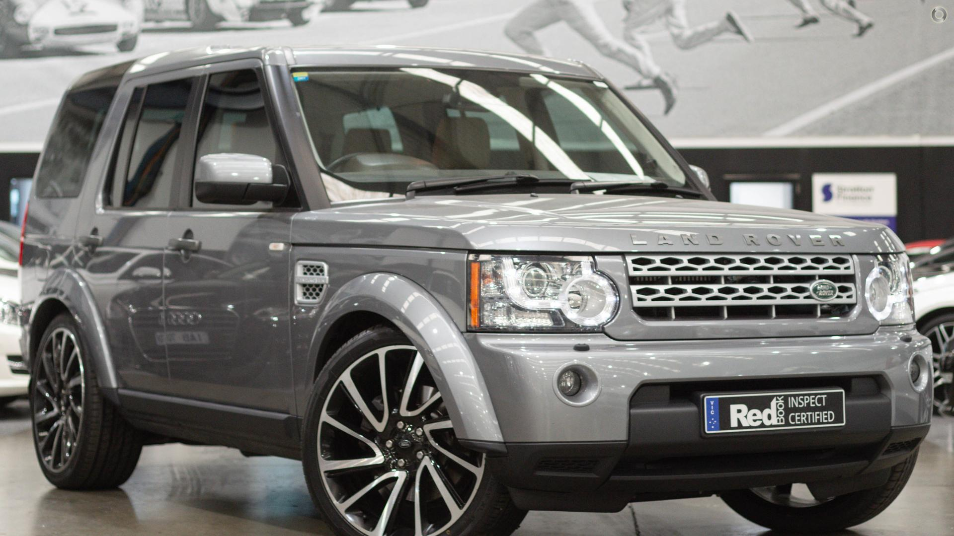 2012 Land Rover Discovery 4 Series 4