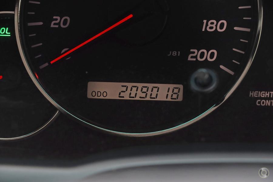 2009 Toyota Landcruiser Prado Grande GRJ120R