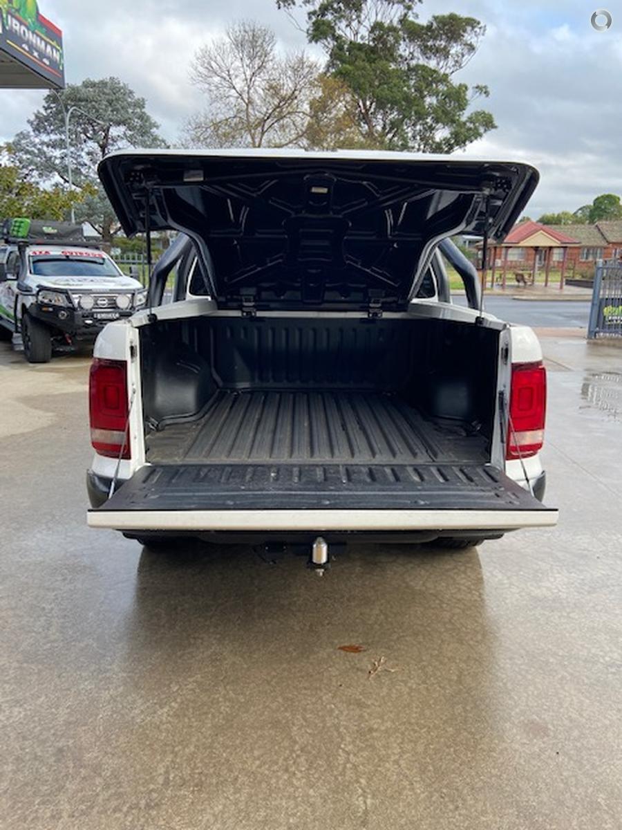 2018 Volkswagen Amarok TDI550 Dark Label 2H