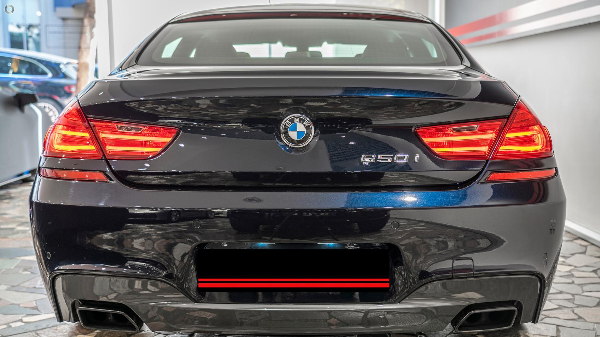2012 BMW 650i  F06