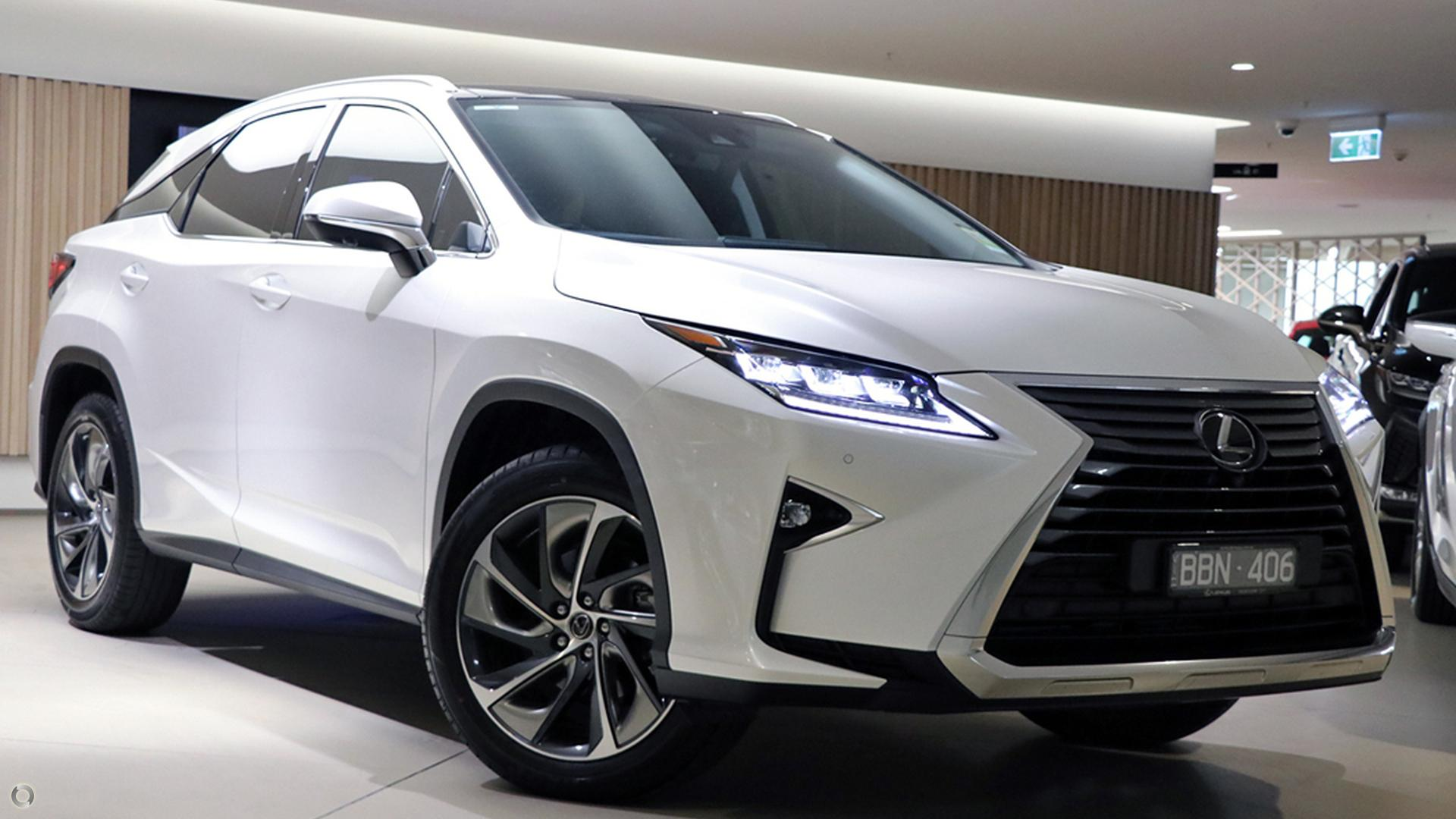 2018 Lexus Rx RX350 Sports Luxury GGL25R