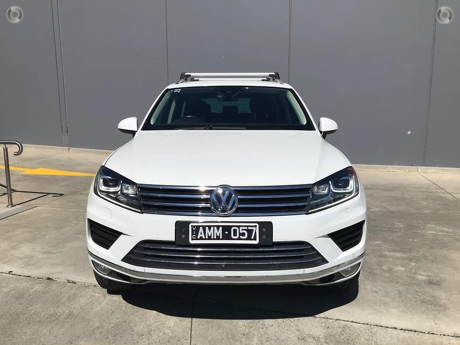 2016 Volkswagen Touareg Wolfsburg Edition 7P