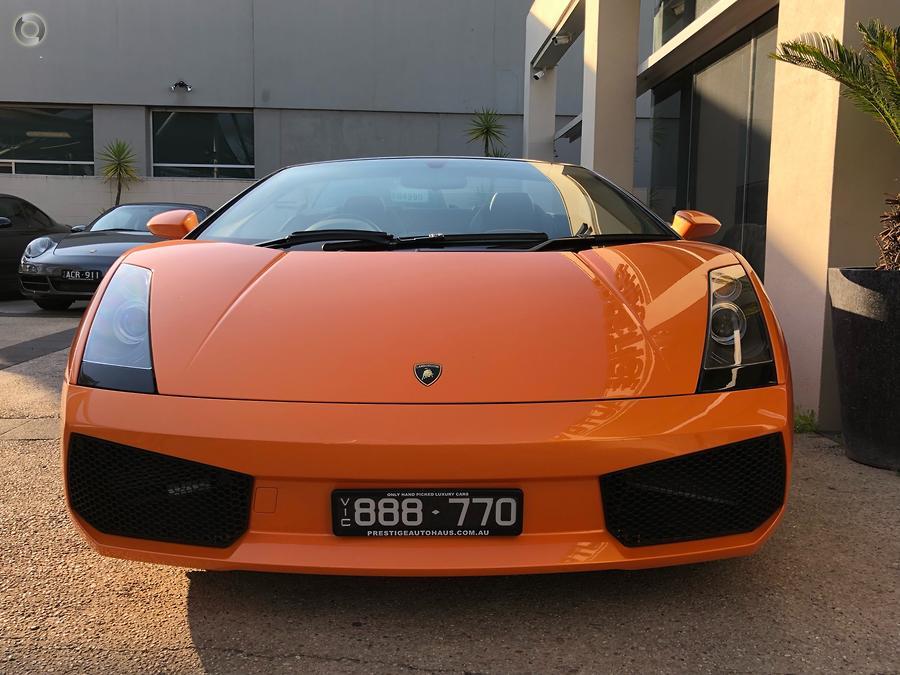 2008 Lamborghini Gallardo Spyder L140