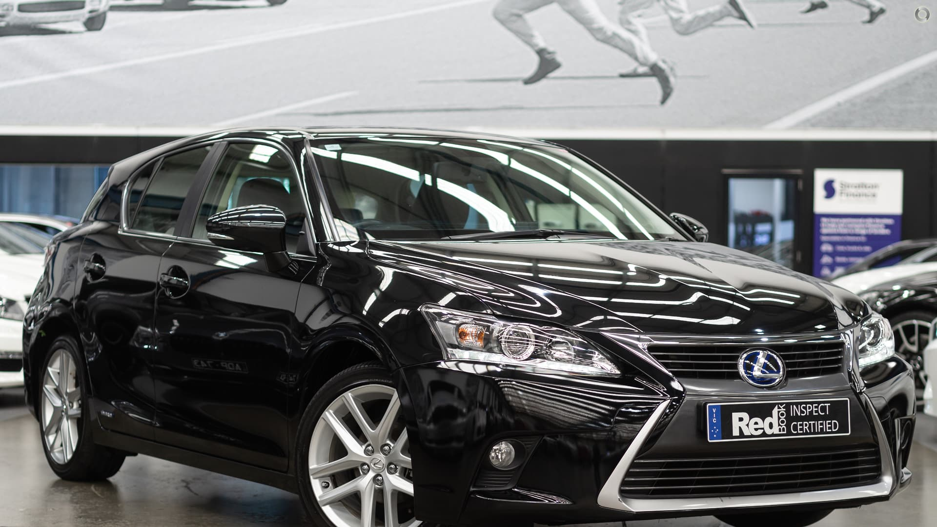 2015 Lexus CT CT200h Sports Luxury ZWA10R