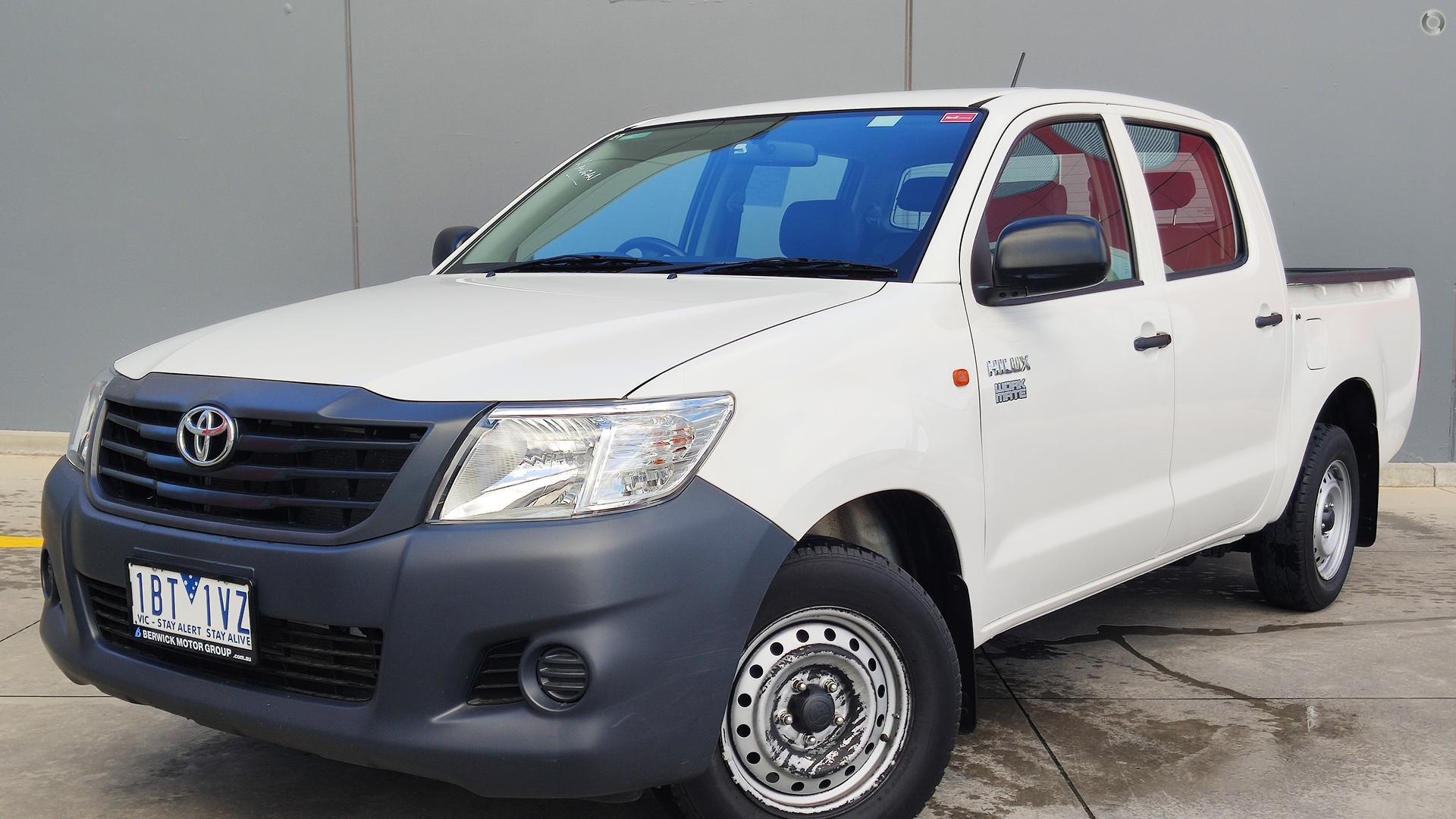 2014 Toyota Hilux TGN16R