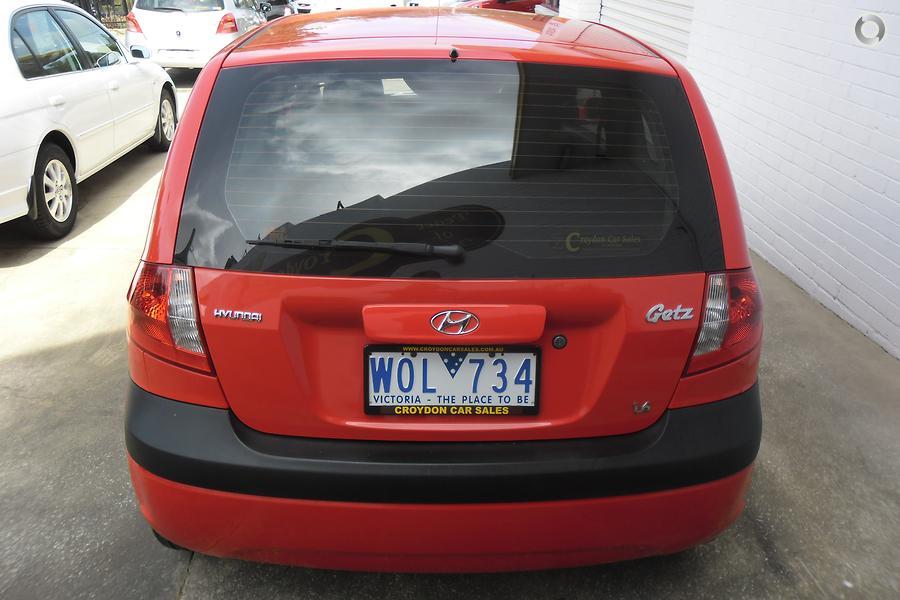 2008 Hyundai Getz SX TB