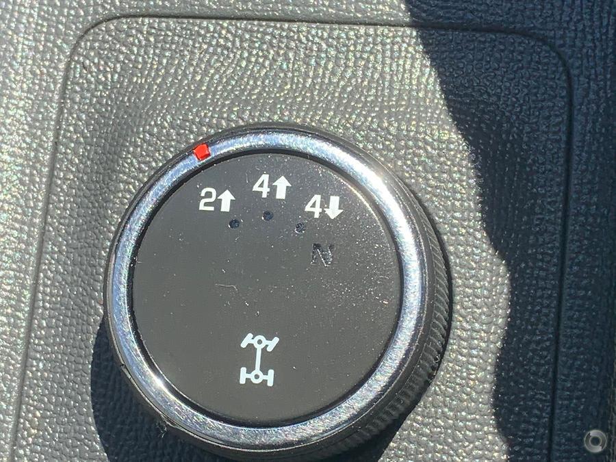 2014 Holden Colorado Storm RG
