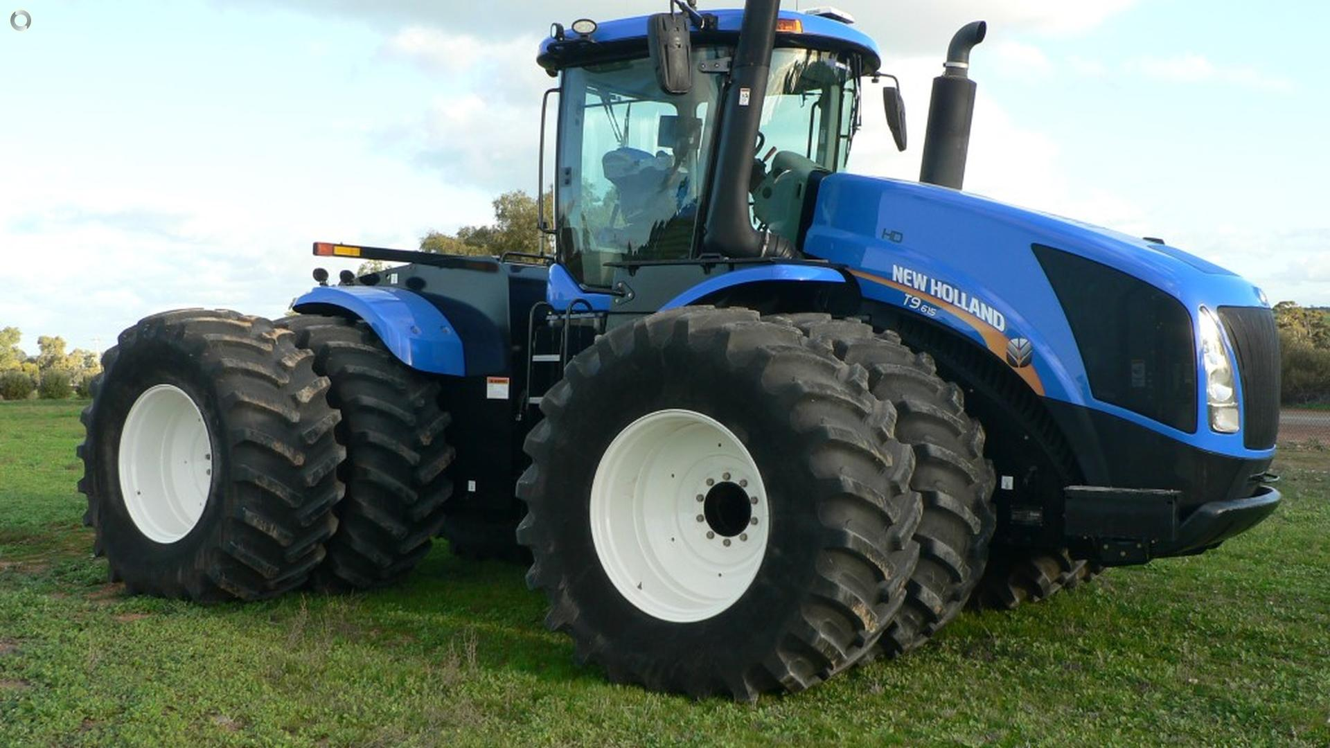 2016 New Holland T9.615