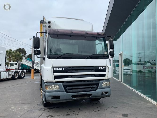 2003 DAF CF75 FRIDGE VAN