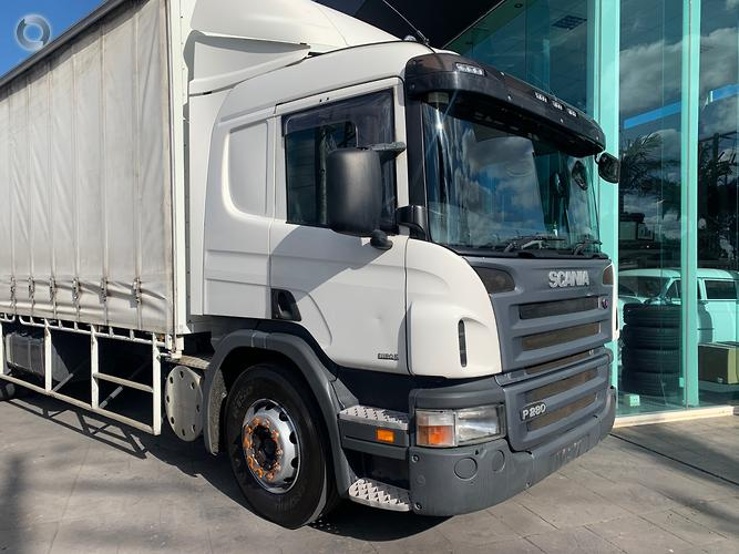 2011 Scania P280 6X2 14 PALLET CURTAINSIDER TAILGATE LOADER