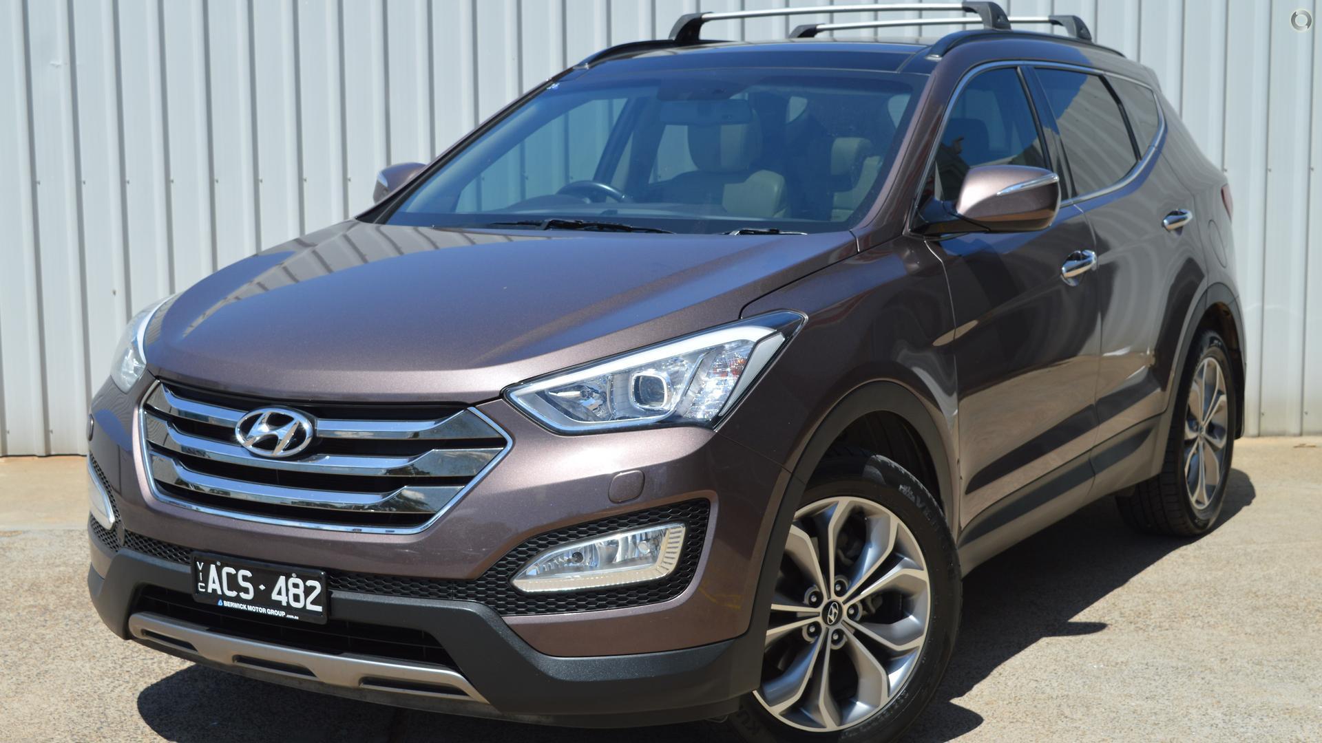 2012 Hyundai Santa Fe DM