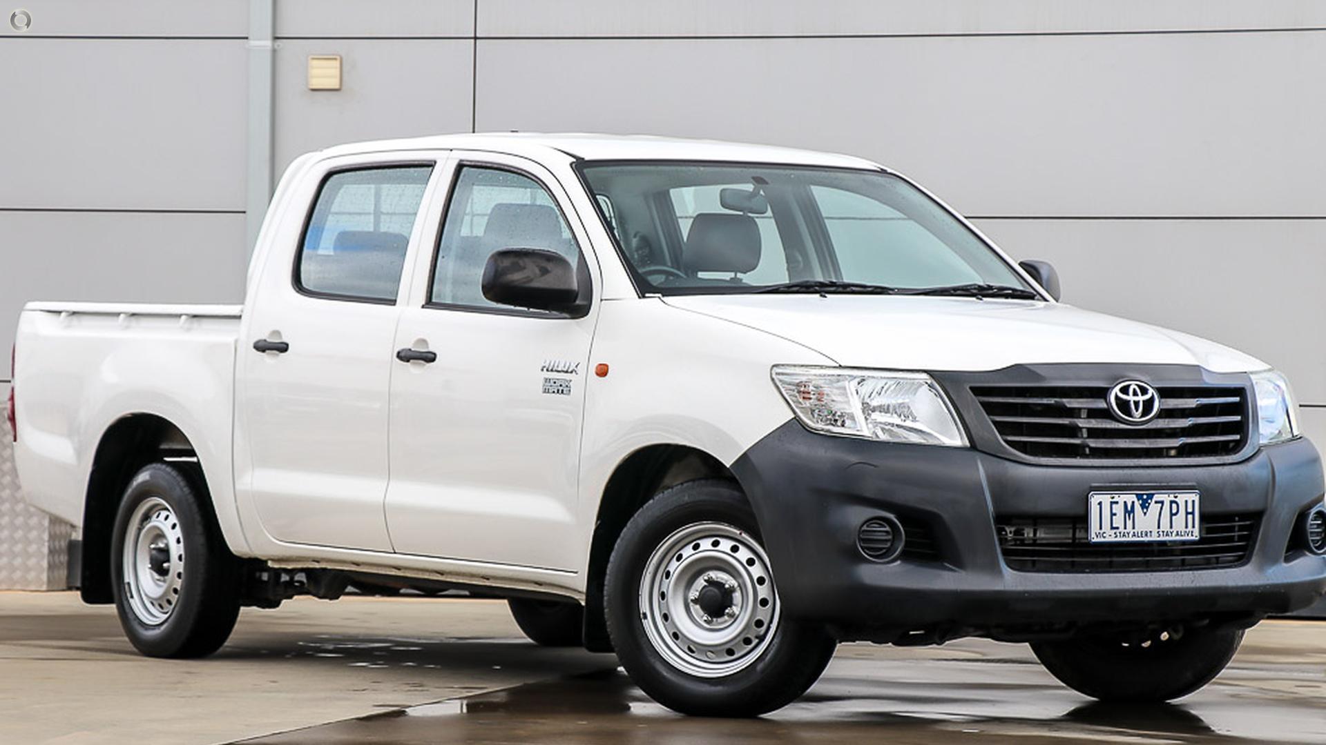 2015 Toyota Hilux TGN16R