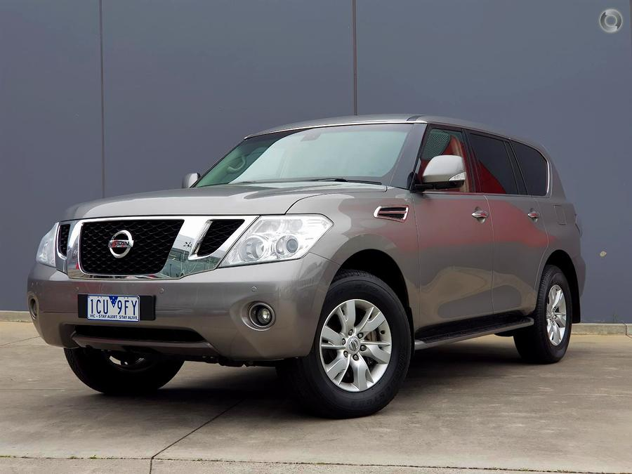 2014 Nissan Patrol Ti Y62