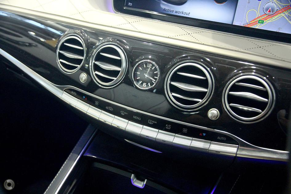 2016 Mercedes-Benz MAYBACH S 600 Sedan
