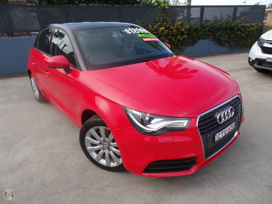 2014 Audi A1 Attraction 8X