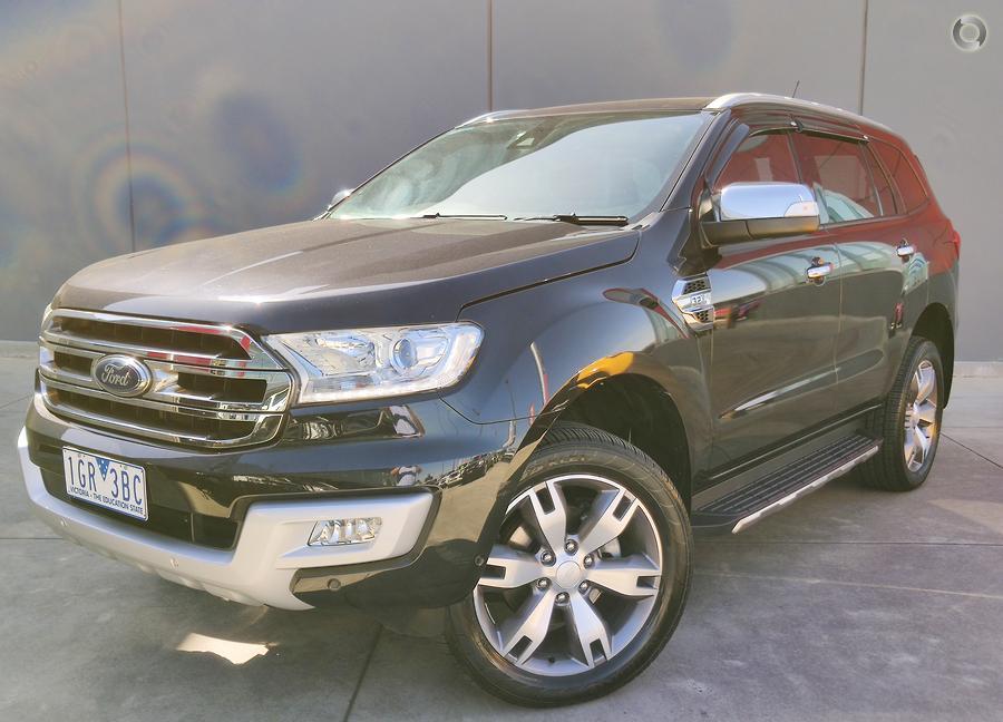 2016 Ford Everest Titanium UA