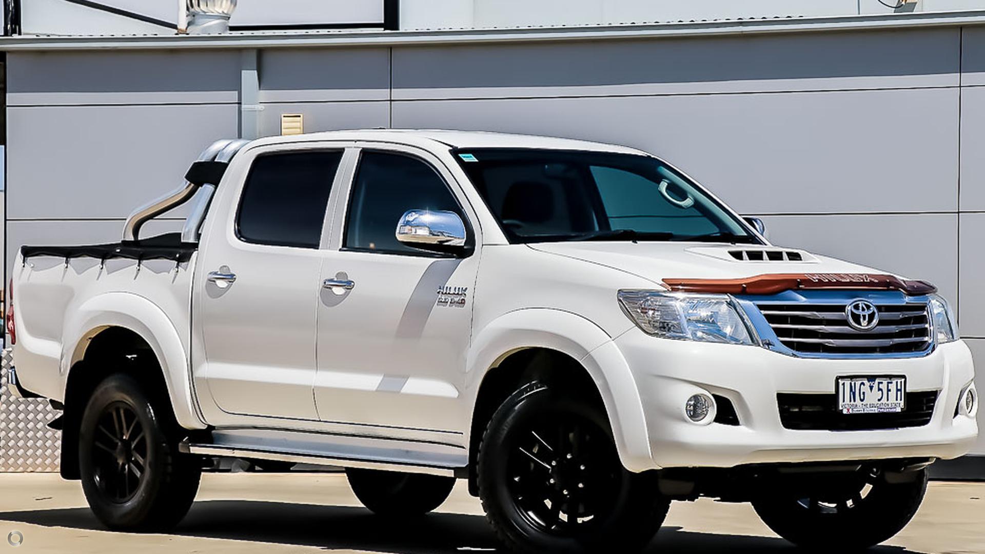2013 Toyota Hilux KUN26R