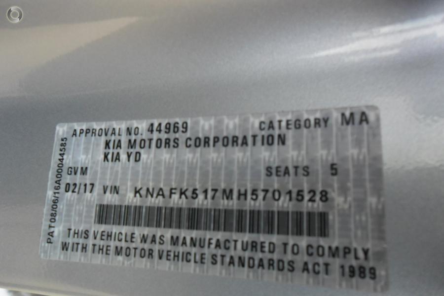2017 Kia Cerato S Premium YD