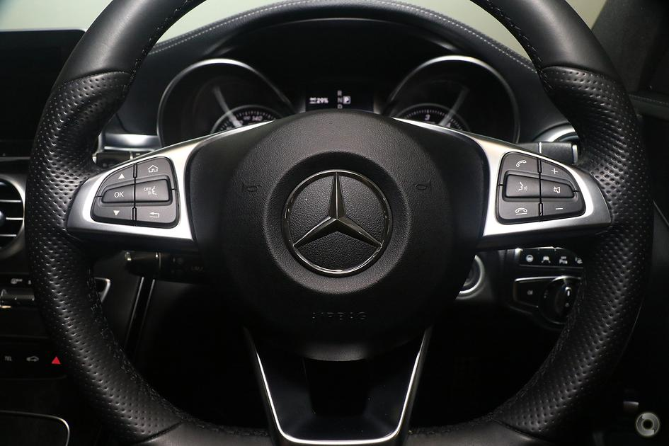 2015 Mercedes-Benz C 300 BLUETEC HYBRID Sedan