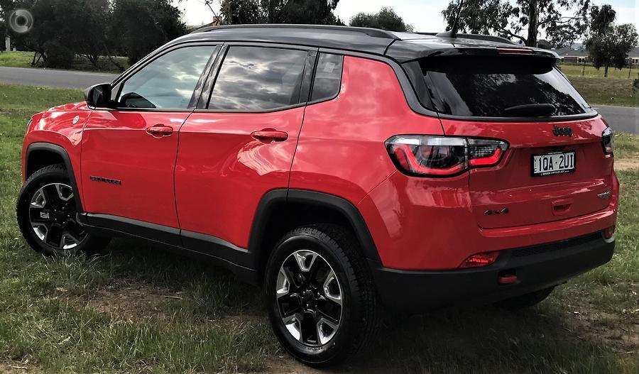 2018 Jeep Compass Trailhawk M6