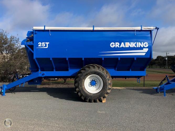 Grain King 25T Chaser Bin