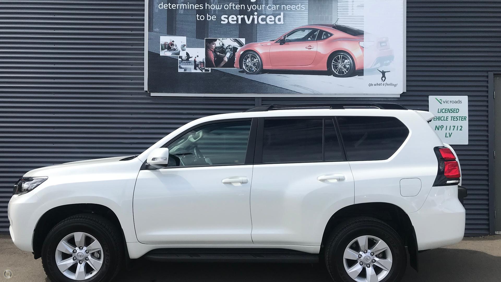2018 Toyota Landcruiser Prado GDJ150R