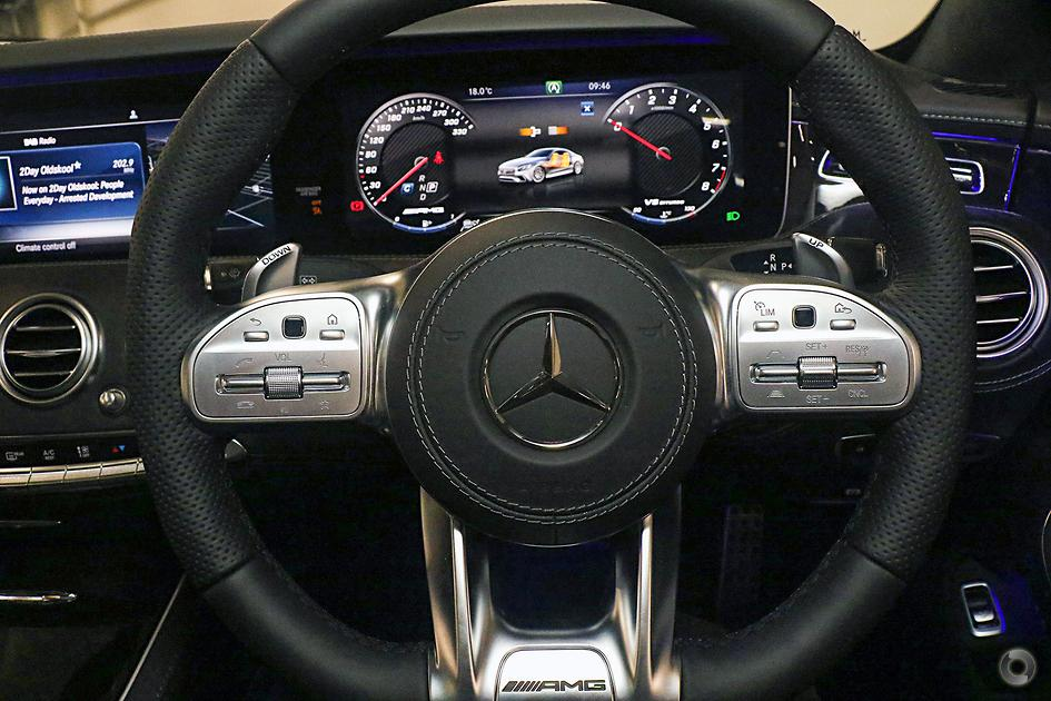 2019 Mercedes-Benz S 63 AMG Coupe