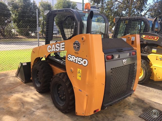 2017 CASE SR150 Skid Steer