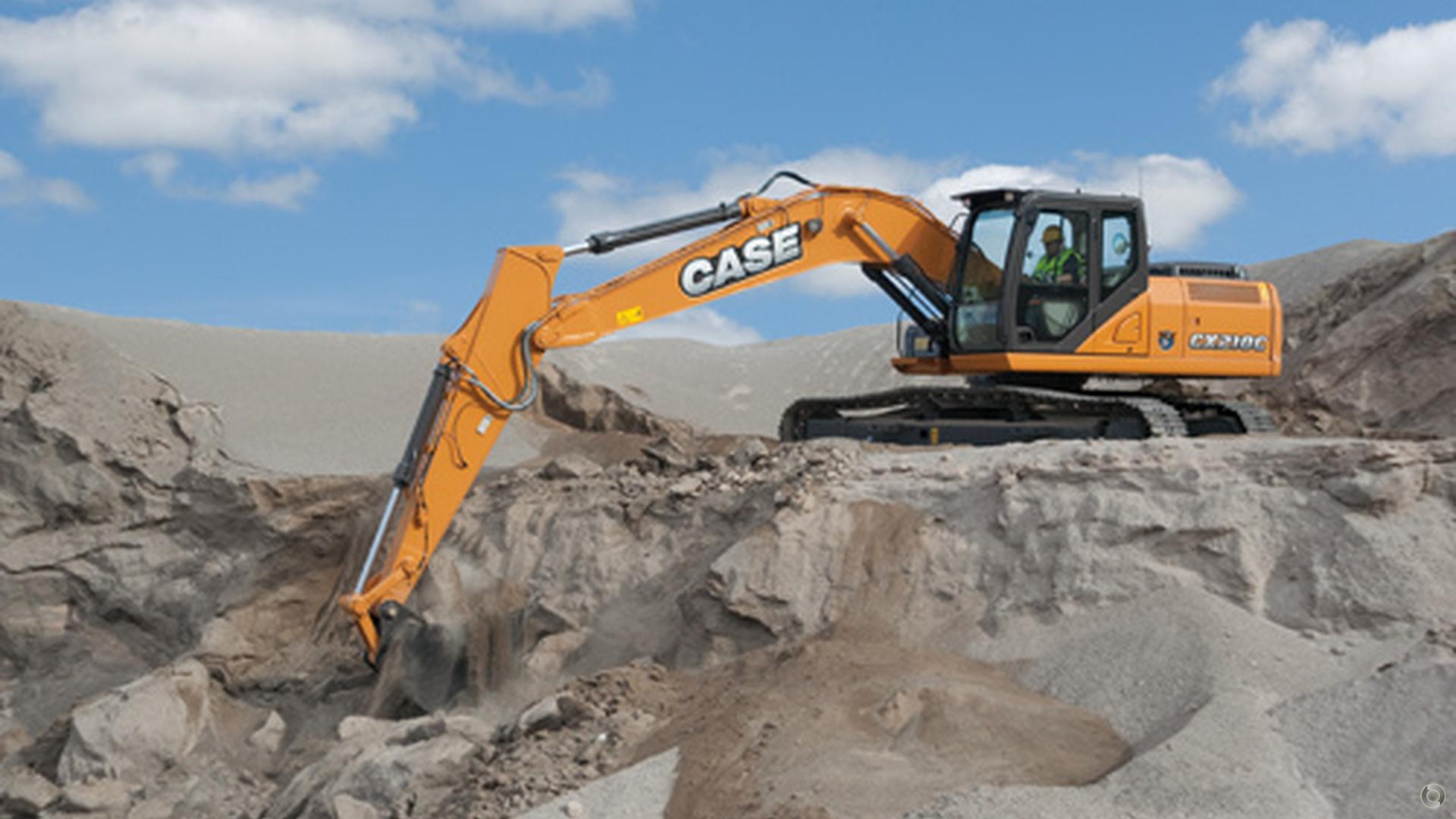 0 CASE CX210C Excavator