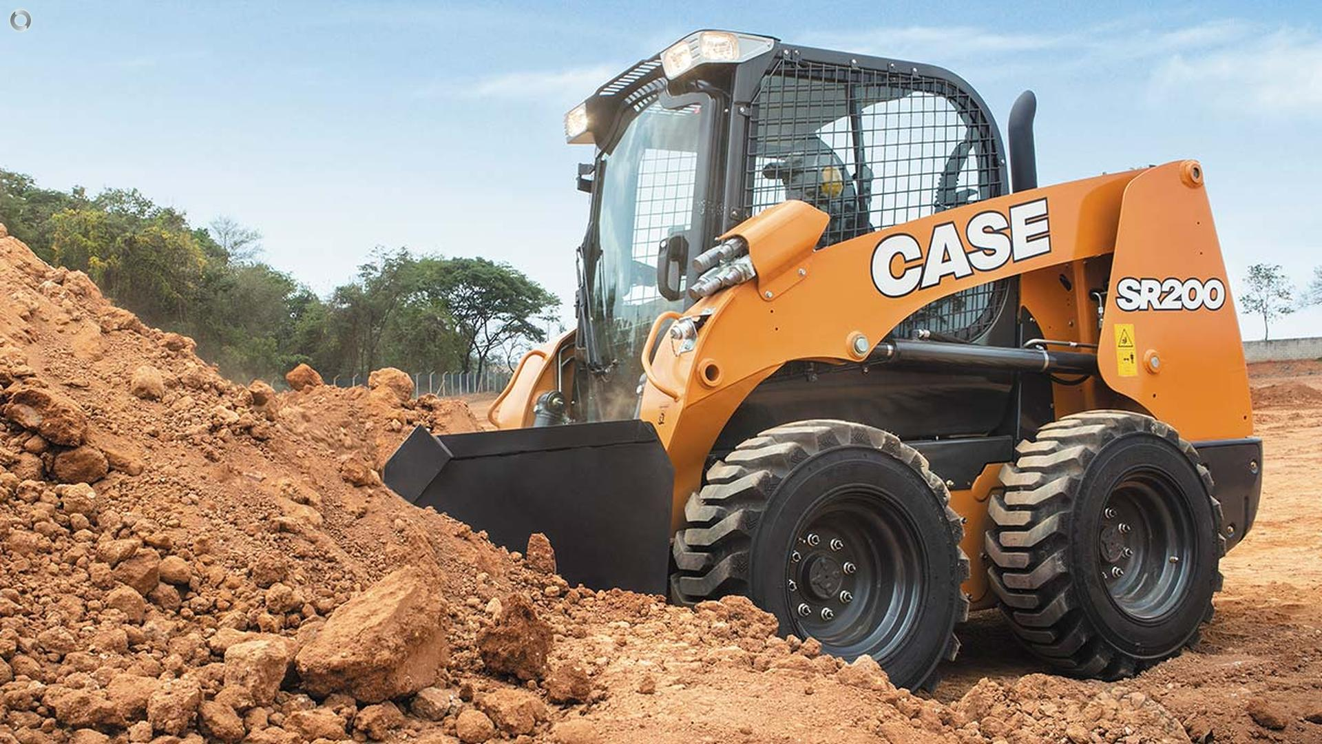 0 CASE SR200 Skid Steer