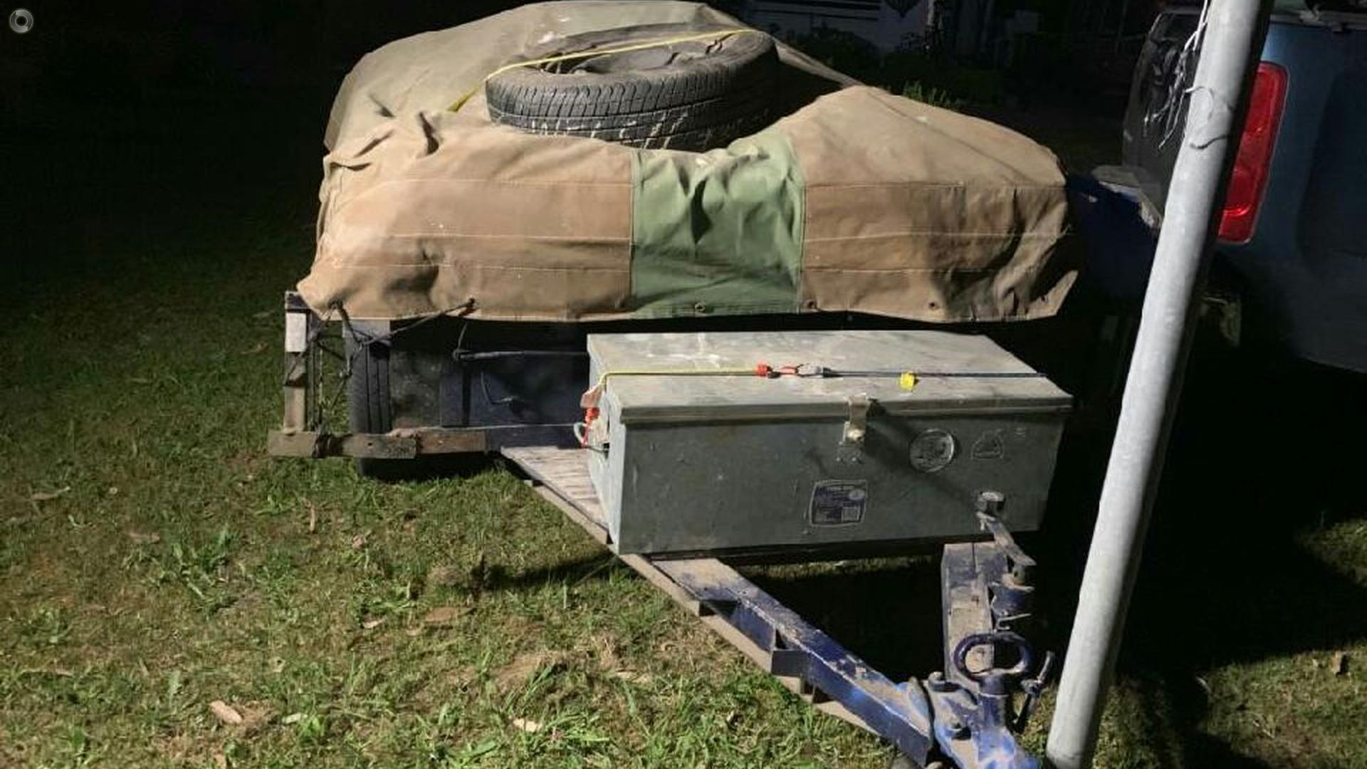 2006  6 X 4 Camper Trailer
