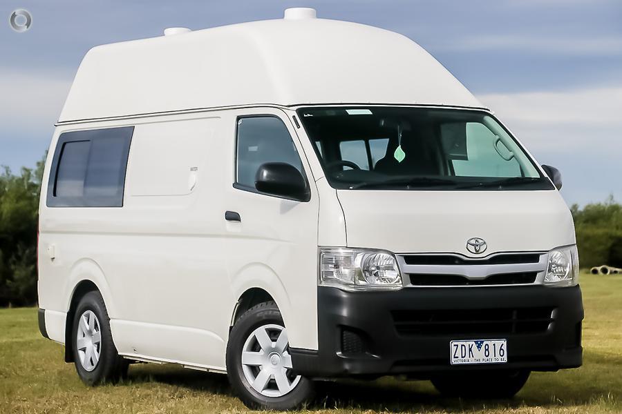 2012 Toyota Hiace Jackpot 3 Berth Camper