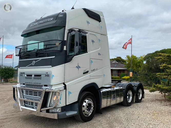 2015 Volvo FH 540 GLOBETROTTER